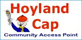 Hoyland Cap Logo and Link to Website